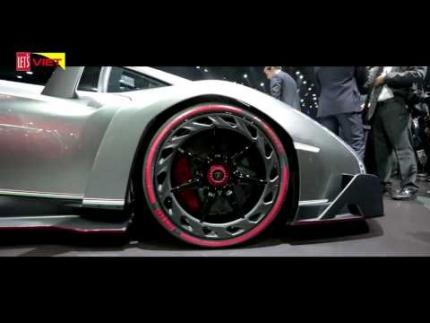 Siêu bò Lamborghini Veneno trên đường thử - On Xe&Thể Thao TV