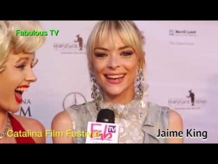 Jaime King at the 'Catalina Film Festival' 2016 on Fabulous TV