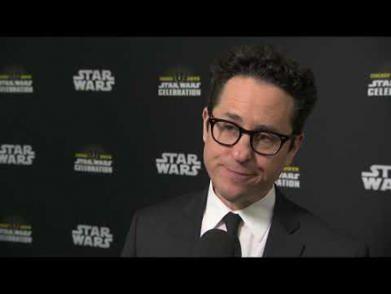 STAR WARS CELEBRATION CHICAGO 2019 JJ Abrams