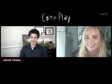 """COME PLAY"" director Jacob Chase interview."