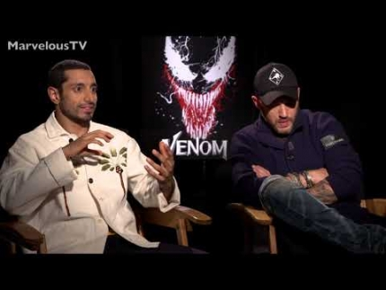 EXCLUSIVE! Tom Hardy & Riz Ahmed  VENOM