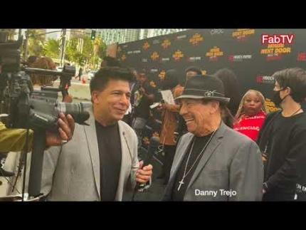 "Danny Trejo arrives at ""The House Next Door""   Meet The..."