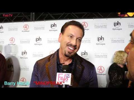 "Producer 'Barry Habib' at Criss Angel's ""MINDFREAK""  Grand Opening at Planet Hollywood!"