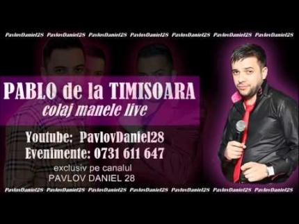 Pablo de la Timisoara - Colaj manele live 2013 (original)