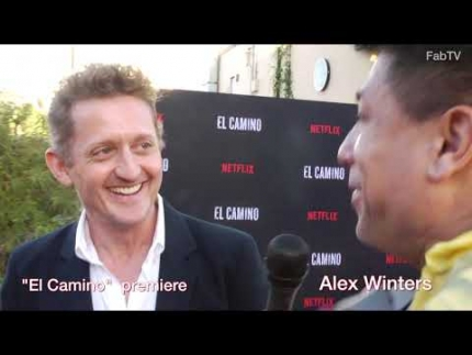 "Director Alex Winters at the ""El Camino""  premiere & red carpet"