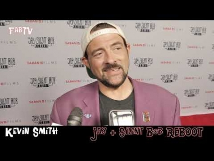 "Kevin Smith at his premiere of  ""Jay and Silent Bob REBOOT"""