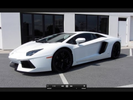 2012 Lamborghini Aventador LP700-4 Start Up, Exhaust, Test Drive, and...