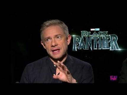 Andy Serkis & Martin Freeman message of 'BLACK PANTHER'
