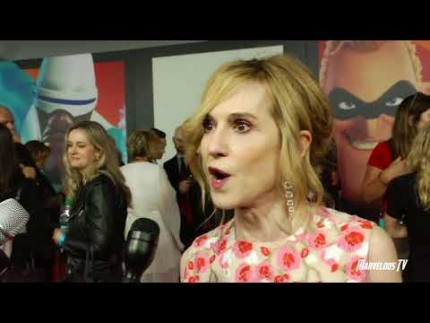 "Holly Hunter ""The Incredibles 2"" red carpet premiere"