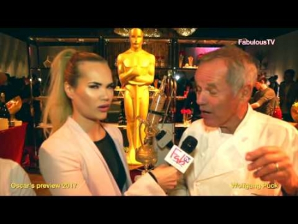 Oscar's preview with Wolfgang Puck 2017
