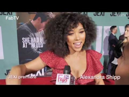 "Alexandra Shipp at the ""JEXI"" premiere & red carpet"