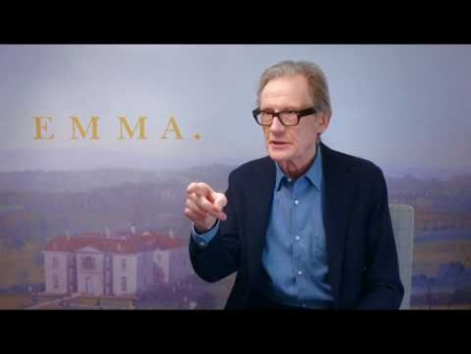 "Actor 'BILL NIGHY' reveals ""EMMA"""