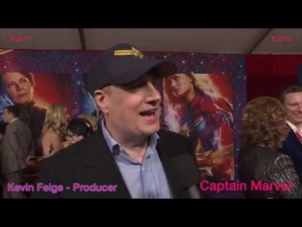 "Kevin Feige Producer ""Captain Marvel""  premiere on FabTV"