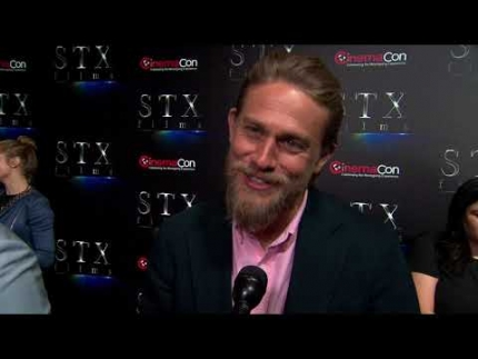 "Charlie Hunnam details ""The Gentleman""  @Cinemacon"