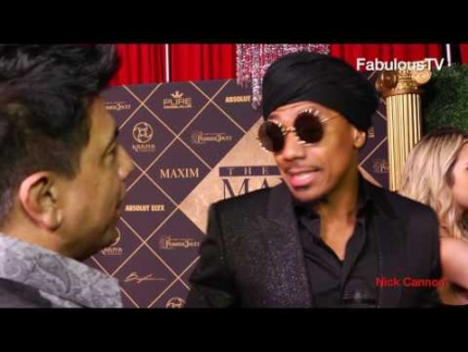 Nick Cannon at 'MAXIM's HOT 100' party on FabTV