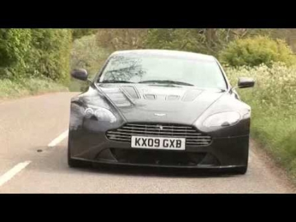 Aston Martin V12 Vantage v Porsche GT2 - By Autocar.co.uk