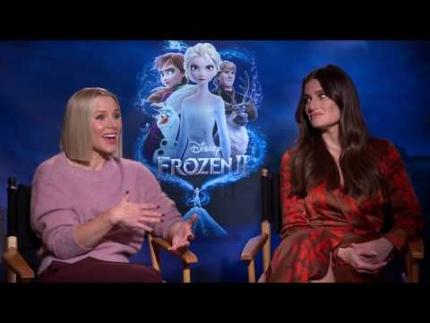 """Kristen Bell & Idina Menzel  """"Frozen 2"""""""