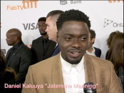 "Daniel Kaluuya at the ""WIDOWS"" red carpet in Toronto"