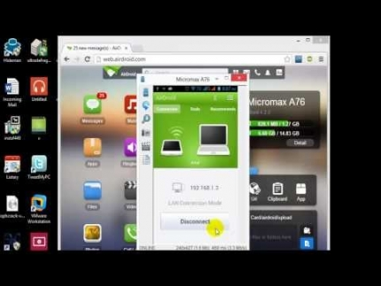 How to connect the Android mobile to PC in WIFI? ( by Md Shohug Islam)