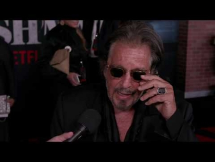 "Al Pacino reveals things about ""THE IRISHMAN"""