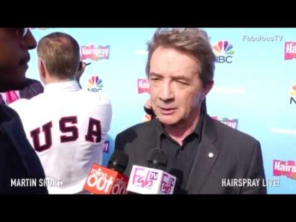Martin Short talks about starring in 'HAIRSPRAY' Live! on Fabulous TV