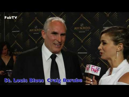 "St. Louis Blues  coach ""Craig Berube"" at the 2019 NHL Awards"
