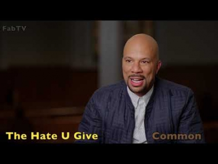 "Common talks about  ""The Hate U Give"""