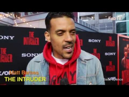 "Matt Barnes  at ""THE INTRUDER""  premiere"