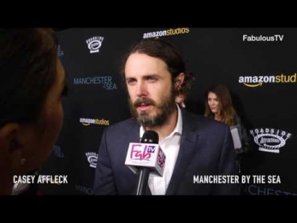 Casey Affleck discusses chapters of his life at 'MANCHESTER by the SEA' premiere