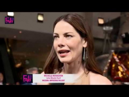 Michelle Monaghan at the premiere of Mission Impossible: FallOut