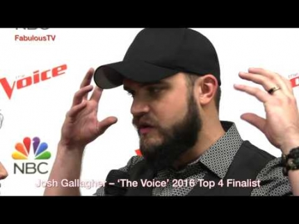 Josh Gallagher –  The Voice  2016 Top 4 Finalist