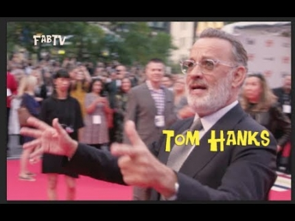 """Tom Hanks arrives at the """"A Beautiful Day in the Neighborhood""""  premiere"""