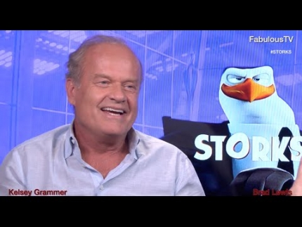 Kelsey Grammer talks about his role in 'STORKS' new animation film on FabulousTV