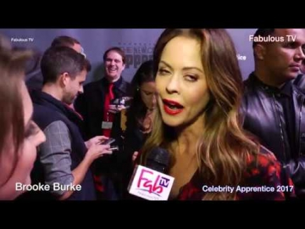 Brooke Burke at the 'Celebrity Apprentice' 2017 on NBC