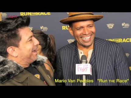 "Mario Van Peebles at ""Run the Race  premiere"