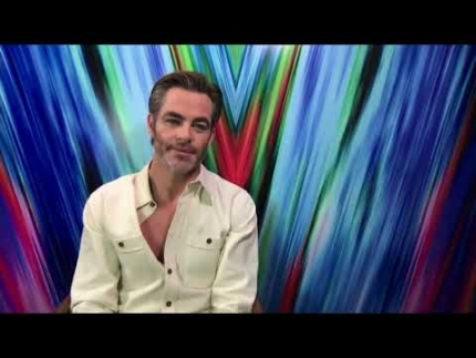 "Exclusive: Chris Pine details working on ""WONDER WOMAN 1984"""