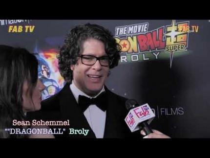 """Sean Schemmel at the """"DRAGONBALL""""  premiere"""