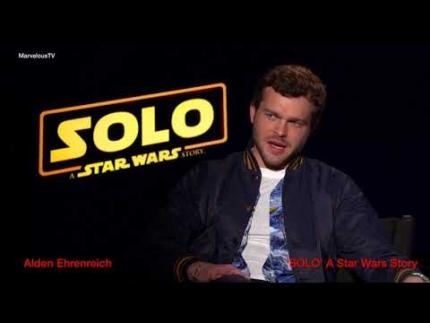 EXCLUSIVE!!!!  Alden Ehrenreich has the knack with directors 'SOLO' A...