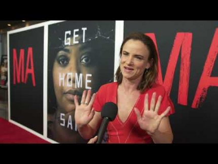 "The amazing'Juliette Lewis' speaks up at the ""MA"" PREMIERE"