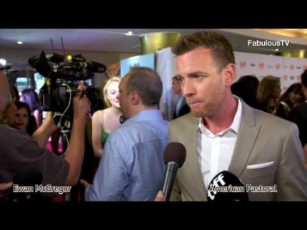 Ewan McGregor talks about his latest film 'American Pastoral' at TIFF...