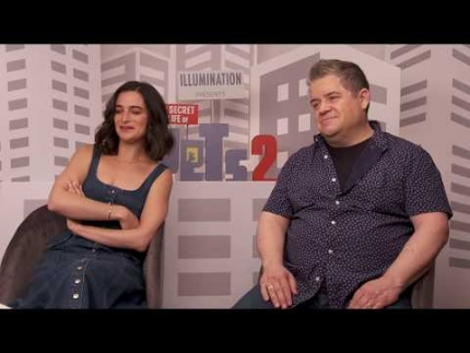 """Secret Life Of Pets 2"" interview with Patton Oswalt  & Jenny Slate"
