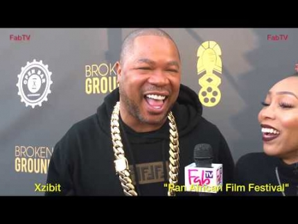 Xzibit at the 27th Annual  Pan African Film Festival