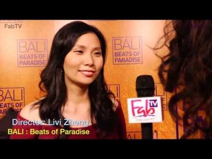 Director: Livi Zheng at the  BALI: 'Beats of Paradise' premiere