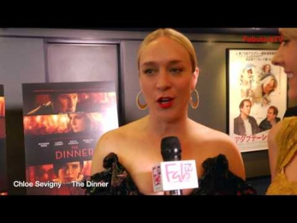 Chloe Sevigny  at 'THE DINNER' world premiere at the WGA Beverly Hills