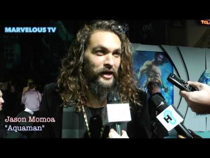 "Jason Momoa at ""AQUAMAN""  premiere"