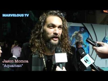 "Jason Momoa at ""AQUAMAN""  premiere"
