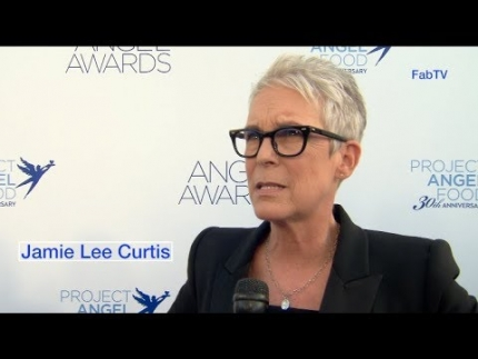 Jamie Lee Curtis at the  Project Angel Food's Angel Awards