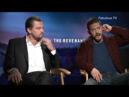 Leonardo DiCaprio & Tom Hardy discuss filming of \'Revenant\' on Fabulous TV
