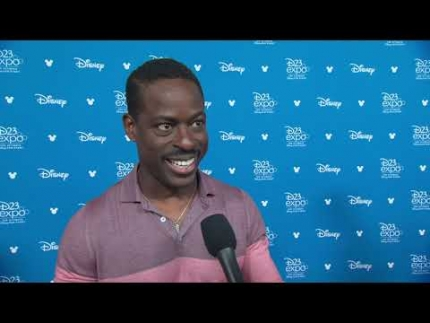 "Sterling K. Brown about ""Frozen 2"""