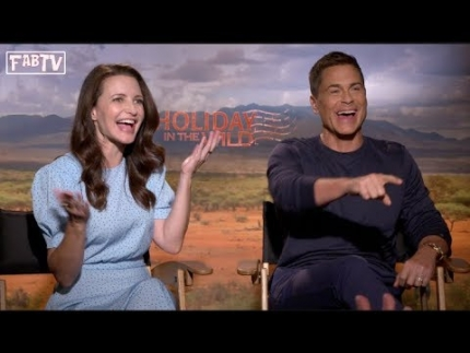 "Kristin Davis & Rob Lowe star in ""Holiday in the Wild"""